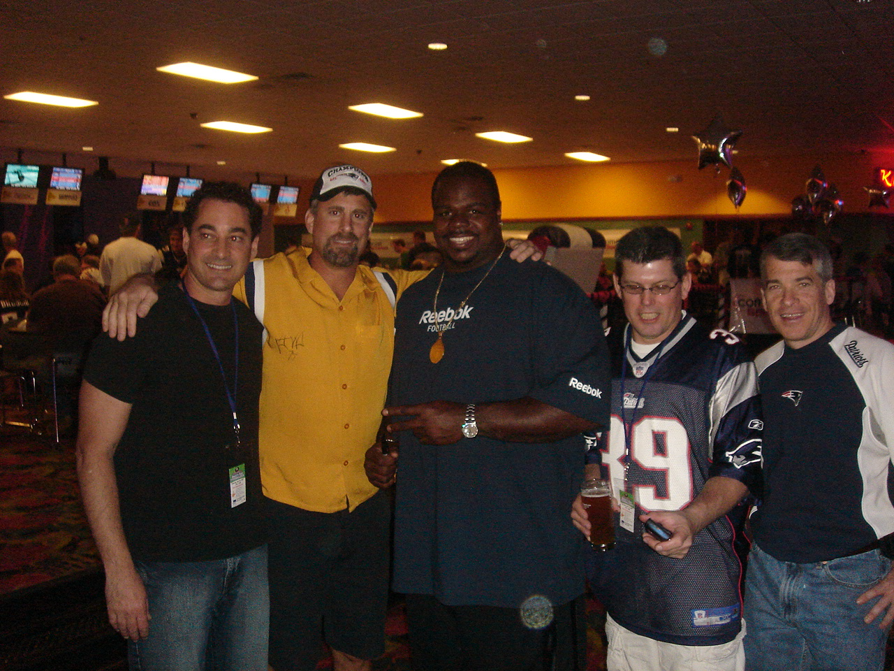 Vince Wilfork and Team Belforti Investments.JPG