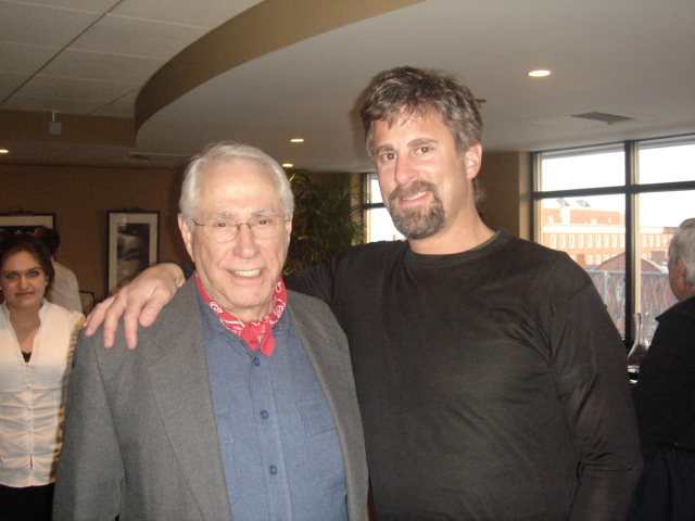 2008 Presidential Candidate Mike Gravel with Dan Belforti at 100 Club Portsmouth NH