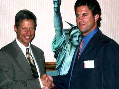 Gary Johnson and Dan Belforti